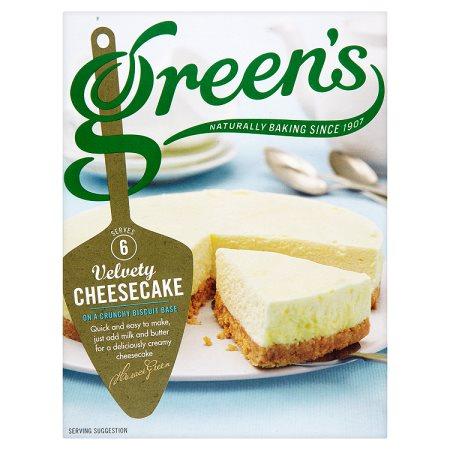 greens original cheese cake 259g