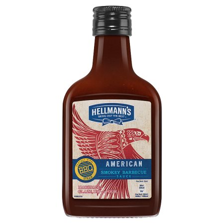 hellmanns american bbq sauce bottle 200ml
