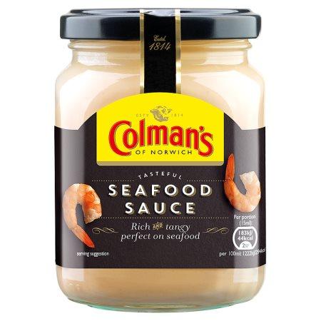 colmans seafood sauce jar 250ml