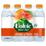 volvic tof orange & peach 50cl