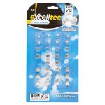 excell alkaline ag button batteries [pound lines] 30pk