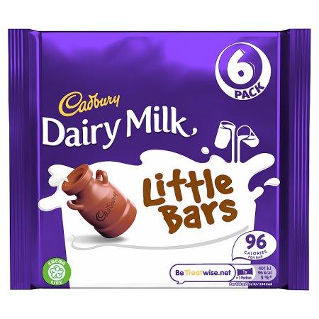 cadbury dairy milk little bars [6 pack] 6 pk