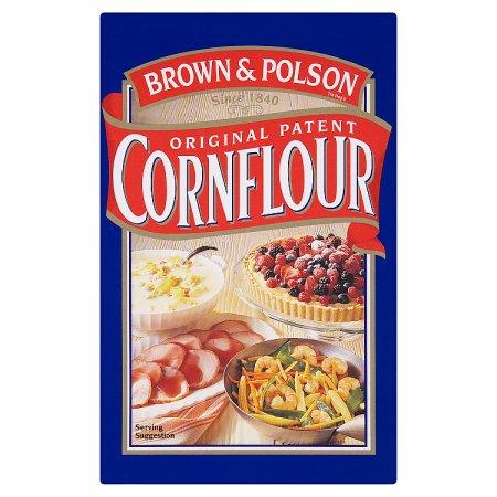 brown polson cornflour 250g