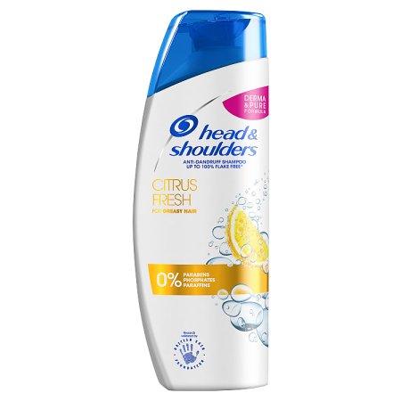 head & shoulders shampoo citrus fresh 250ml