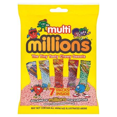 millions multi pack 116g