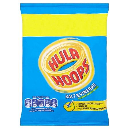 hula hoops salt & vinegar 34g