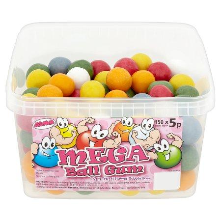 mega ball gum 5p 5p