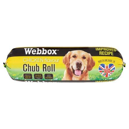 webbox chicken chubs 720g