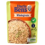 uncle bens whole grain rice express 250g