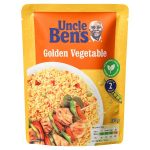 uncle bens golden vegetable express rice 250g
