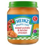 heinz mum sweet potato & tender chicken jar 128g
