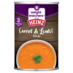heinz weight watchers lentil & carrot soup 295g