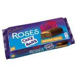 cadbury roses cake orange bars 5s