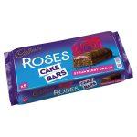 cadbury roses cake strawberry bars 5s