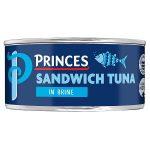 princes sandwich tuna in brine 140g