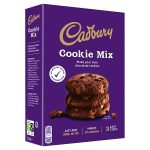 cadbury double chocolate cookie mix 275g