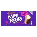 cadbury raspberry mini rolls 5 pack