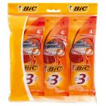 bic 3 sensitive mens razor 4 pack