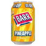 barrs pineapple 49p 330ml