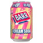 barrs cream soda 49p 330ml