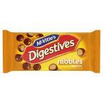 mcvities digestives nibbles caramel handy bag 37g
