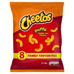 cheetos flamming hot puffs [8 pack] 8pk