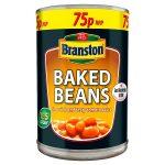 branston baked beans 75p 410g