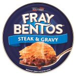 fray bentos steak & gravy pie 425g