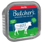butchers beef & vegetable alutray 65p 150g