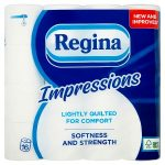 regina impressions white 3 ply 16roll