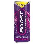 boost energy sugar free punch 59p 250ml