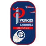 princes sardine & tomato 120g