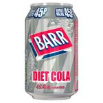 barrs diet cola 45p 330ml