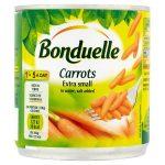 bonduelle extra small baby carrots 200g