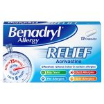 benadryl allergy 12s