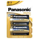 panasonic alkaline d battery 2s