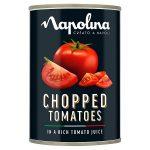 napolina chopped tomatoes 400g