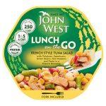 john west light lunch french tuna 220g
