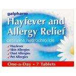 galpharm allergy & hayfever relief (cetirizine) 7s