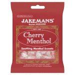 jakemans cherry menthol bags 100g
