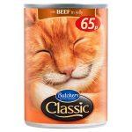 butchers classic cat beef 65p 400g