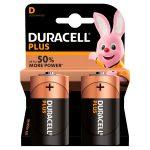 duracell plus d battery 2s