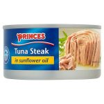 princes tuna steak in sunflower oil 160g