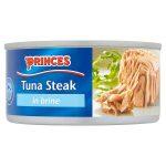 princes tuna steak in brine 160g