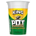 king pot noodle chicken & mushroom 118g