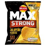walkers max strong jalepeno & cheese 50g