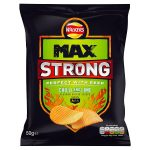 walkers max strong chilli & lime 50g