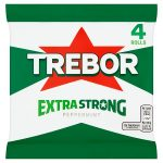 trebor extra strong peppermint [4 pack] 4pk