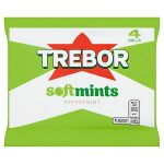 trebor softmint peppermint [4 pack] 4pk