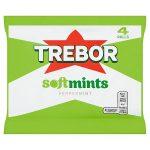 trebor softmint peppermint [4 pack] 4pk